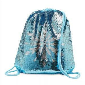 Disney Frozen2 reversible swim bag or cinch bag
